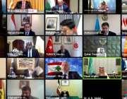 اسلام آباد، وزیر خارجہ شاہ محمود قریشی سمیت وزرائے خارجہ فلسطین کیخلاف ..