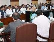 پشاور، وزیراعلی خیبرپختونخوا محمود خان پشاور ریجن میں عوامی مسائل ..