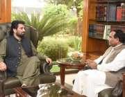 اسلام آباد، ڈپٹی سپیکر قومی اسمبلی قاسم خان سوری سے اومان میں تعینات ..
