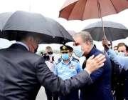 اسلام آباد، وزیر خارجہ شاہ محمود قریشی اپنے روسی ہم منصب سرگئی لاروف ..