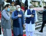 اسلام آباد، وزیراعظم عمران خان ، سپیکر قومی اسمبلی اسد قیصر، چئیرمین ..