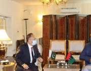 اسلام آباد، چئیرمین پاکستان پیپلز پارٹی بلاول بھٹو زرداری سے چینی ..