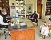 اسلام آباد، وزیر تعلیم شفقت محمود سے برٹش کونسل پاکستان اور کیمبرج ..