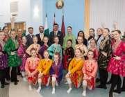 منسک، پاکستانی سفارتخانہ کے زیر اہتمام اسٹیٹ یونیورسٹی آف کلچر اینڈ ..