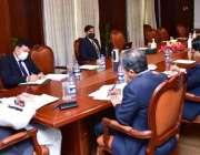 اسلام آباد، وزیر خارجہ شاہ محمود قریشی نیوزی لینڈ کی ہم منصب نانیہ ..