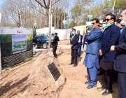 اسلام آباد، وزیراعظم عمران خان ایک کروڑ درخت منصوبے کے تحت موسم بہار ..