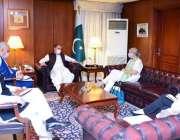 اسلام آباد، وزیر خارجہ شاہ محمود قریشی سے کینیڈین ہائی کمشنر وینڈی ..