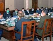 کراچی، وزیر ریلوے اعظم خان سواتی ڈویژنل سپرنٹنڈنٹ آفس کراچی میں افسران ..