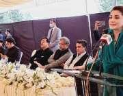 اسلام آباد، مسلم لیگ ن کی نائب صدر مریم نواز سندھ ہاؤس میں اپوزیشن ارکان ..