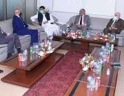 اسلام آباد، وفاقی وزیر انفارمیشن ٹیکنالوجی و ٹیلی کمیونیکشن سید امین ..