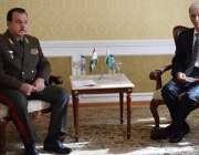 دوشنبے، وزیر دفاع پرویز خٹک دوشنبے میں تاجکستان کے وزیر دفاع شیرعلی ..