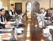 اسلام آباد، وفاقی وزیر خزانہ شوکت ترین پاکستان سنگل ونڈو کی گورنر کونسل ..
