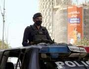 کراچی، پاکستان میں جنوبی افریقہ کی کرکٹ ٹیم کے دورے کے حوالے سیکورٹی ..