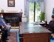 اسلام آباد، وزیراعظم عمران خان سے وفاقی وزیر سائنس اینڈ ٹیکنالوجی ..
