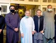 اسلام آباد، چئیرمین پیپلز پارٹی بلاول بھٹو زرداری سے ملاقات کے بعد ..