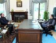 اسلام آباد، وزیراعظم عمران خان سے گورنر سندھ عمران اسماعیل ملاقات ..
