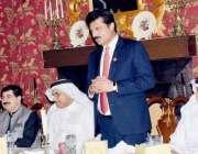اسلام اباد، سینیٹ میں قائد ایوان سینیٹر ڈاکٹر شہزاد وسیم عرب پارلیمنٹ ..