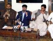 کراچی، پریس کلب میں پاکستان باکسنگ کونسل کی جانب سے پروفیشنل باکسر ..
