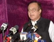 لاہور، وفاقی وزیر اطلاعات و نشریات شبلی فراز سندس فاؤنڈیشن میں میڈیا ..