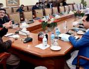 پشاور، وزیراعلی خیبرپختونخوا محمود خان زکوٰة ڈیپارٹمنٹ کے اعلی سطحی ..