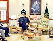 لاہور، وزیراعلی پنجاب سردار عثمان بزدار سے تعاون گروپ کا وفد ملاقات ..