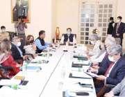 اسلام آباد، وزیراعظم عمران خان کچرے سے متعلق اعلی سطحی اجلاس کی صدارت ..