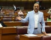 اسلام آباد، تحریک انصاف کے رُکن اسمبلی ملک عامر ڈوگر قومی اسمبلی کے ..