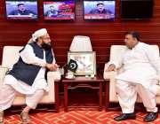 اسلام آباد، وفاقی وزیر اطلاعات و نشریات فواد چوہدری سے وزیراعظم کے ..