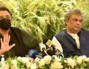کراچی، وفاقی وزیر برائے منصوبہ بندی ، ترقی اور خصوصی اقدامات اسد عمر ..