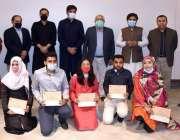 کراچی، وزیراعلی سندھ مراد علی شاہ کا این ای ڈی یونیورسٹی میں انعامات ..