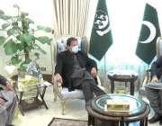 کوئٹہ، وزیراعظم عمران خان سے گورنر بلوچستان جسٹس ریٹائرڈ امان اللہ ..