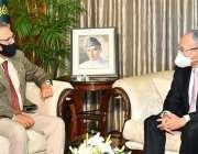 اسلام آباد، صدر مملکت ڈاکٹر عارف علوی سے جاپانی سفیر ملاقات کر رہے ..