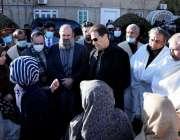 کوئٹہ، وزیراعظم عمران خان سانحہ مچھ میں شہید ہونے والے افراد کے اہلخانہ ..
