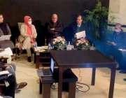 لاہور، صوبائی وزیر قانون راجہ بشارت یوم یکجہتی کشمیر کے حوالے سے اجلاس ..