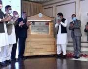 اسلام آباد، وزیراعظم عمران خان کراچی نیوکلئیر پاور پلانٹ یونٹ 2 کے ..