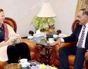 کوئٹہ، گورنر بلوچستان امان اللہ خان یسین زئی سے اقوام متحدہ متحدہ کی ..