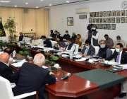 اسلام آباد، وزیر خزانہ شوکت ترین قومی اقتصادی رابطہ کمیٹی کے اجلاس ..