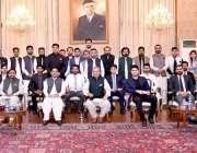 اسلام آباد، صدر مملکت ڈاکٹر عارف علوی کا نیشنل یوتھ اسمبلی کے وفد سے ..