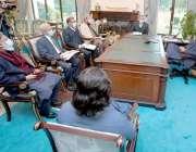 اسلام آباد، وزیراعظم عمران خان سے القادر یونیورسٹی کی مینجمنٹ کمیٹی ..