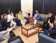 کراچی، گورنر سندھ عمران اسماعیل کینیڈا میں پاکستانی خاندان کے 4 شہداء ..