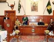 کوئٹہ، گورنر بلوچستان امان اللہ خان یسین زئی نومنتخب صوبائی وزیر عبدالخالق ..