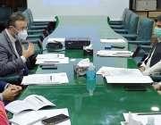 کراچی، وزیراطلاعات سندھ ناصر حسین شاہ سے عالمی بینک کا وفد کنٹری ڈائریکٹر ..
