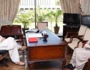 اسلام آباد، وزیراعظم عمران خان سے وزیراعلی بلوچستان جام کمال خان ملاقات ..