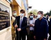 کراچی، وزیراعلی سندھ مراد علی شاہ ڈاؤ انسٹی ٹیوٹ آف لائف سائنس اوجھا ..
