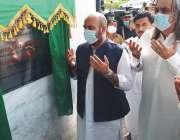 ڈیرہ اسماعیل خان، صوبائی وزیر تیمور سلیم جھگڑا اور وفاقی وزیر اعلی ..