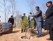 اسلام آباد، وزیراعظم عمران خان پودہ لگا کر ایک کروڑ درخت منصوبے کے ..
