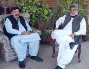 اسلام آباد، وزیر داخلہ شیخ رشید احمد سے معاون خصوصی وزیراعظم سردار ..