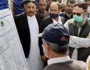 لسبیلہ، وزیراعلی بلوچستان جام کمال خان کو بی اینڈ آر کے افسران حب بائی ..
