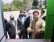 اسلام آباد وزیراعظم عمران خان کم لاگت گھروں کی عوام تک رسائی کیلئے ..