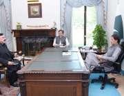 اسلام آباد، وزیر اعظم عمران خان سے وزیر داخلہ شیخ رشید احمد ملاقات ..